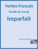 Imparfait (Imperfect in French) Raisons Worksheet