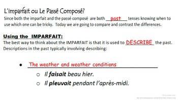 Imparfait vs Passe Compose Usage Comparison: French Quick Lesson