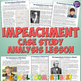 Impeachment Activity and Case Study Lesson Plan