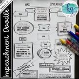 Impeachment Doodle Flow Chart (Print and Digital)