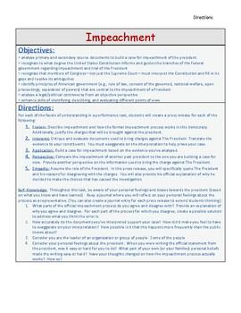 GRASPS Impeachment Performance Task