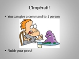 Impératif (Imperative in French) PowerPoint
