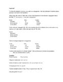 Impératif Study Guide