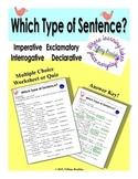 Imperative, Exclamatory, Interrogative, & Declarative Sent