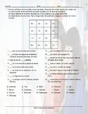 Imperative Verbs Magic Square Spanish Worksheet
