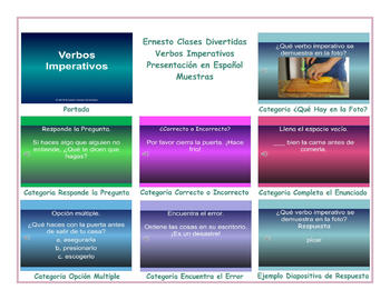 Imperative Verbs Spanish PowerPoint Presentation