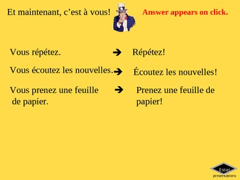 Imperatives - Commands in French