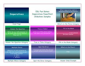 Imperatives PowerPoint Slideshow