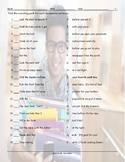 Imperatives Sentence Match Worksheet