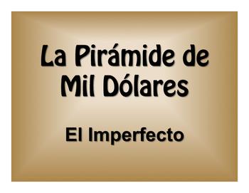 Spanish Imperfect $1000 Pyramid Game