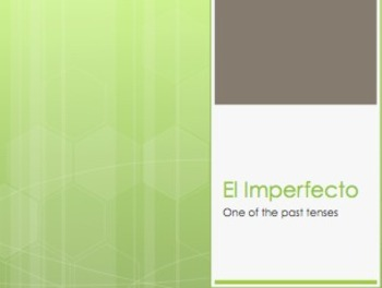 Spanish Imperfect Notes