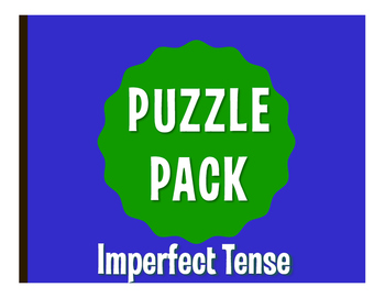 Spanish Imperfect Puzzle Pack