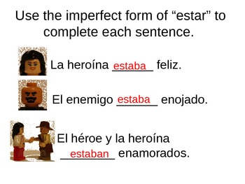 Imperfect Spanish Tense