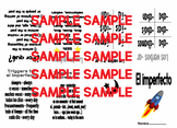 Imperfect Spanish Verb Study Booklet (paper folding) el im