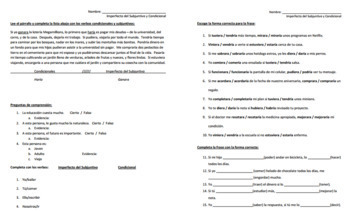 Imperfect Subjunctive Bundle for Advanced Spanish