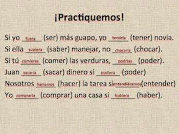 Imperfect Subjunctive Powerpoint