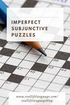 Imperfect Subjunctive Puzzles