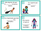 Imperfect Subjunctive Spanish Task Cards: Imperfecto de Subjuntivo