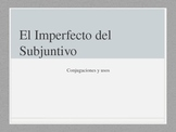 Imperfect Subjunctive in Spanish