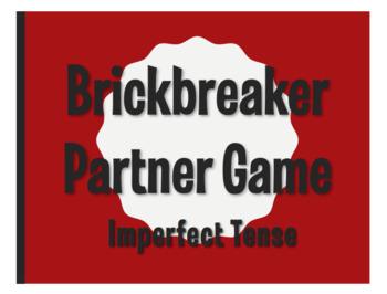 Spanish Imperfect Brickbreaker Partner Game