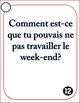 Imperfect Tense French Speaking Task Cards