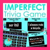 Imperfect Tense Jeopardy-Style Trivia Game | Spanish Review Game