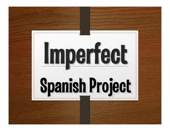 Spanish Imperfect Project:  Como Éramos