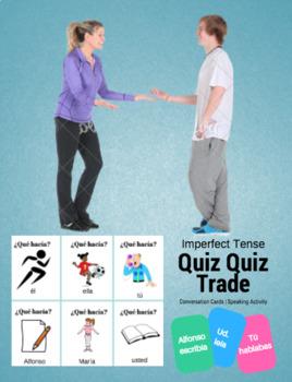 Imperfect Tense Quiz Quiz Trade Cards