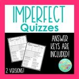Imperfect Tense Quiz or Worksheet | Spanish Assessment