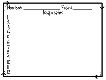 Imperfect Tense Task Cards FREEBIE | Free Spanish Task Cards, Review