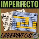 Imperfect Tense Verb Mazes in Spanish