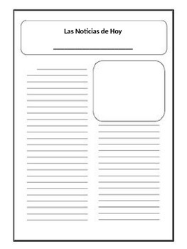 Imperfect or Preterit Activity to write a newspaper article on an accident