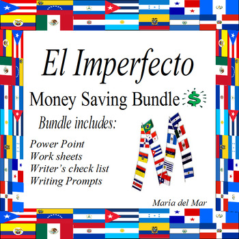 Imperfect tense Bundle