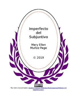 Imperfecto de Subjuntivo