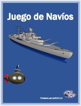 Imperfecto of regular verbs in Spanish Batalla Naval Battleship game