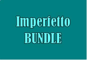 Imperfetto (Imperfect tense in Italian) Bundle