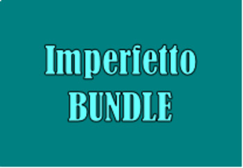 Imperfetto (Imperfect in Italian) Bundle