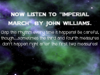 Imperial March Listening Lesson Sampler {Freebie}