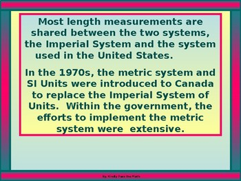 Power-point:  Imperial Units of Measure (BC)