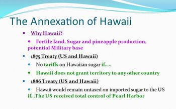 Imperialism: Alaska & Hawaii Video Lecture - Great for Special Needs
