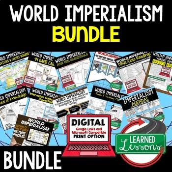Imperialism BUNDLE (World History Bundle)