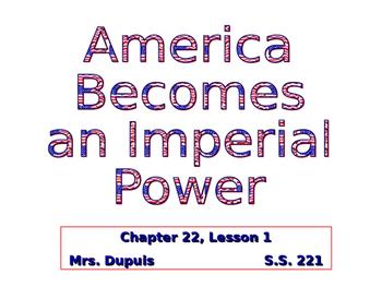 Imperialism Background Presentation