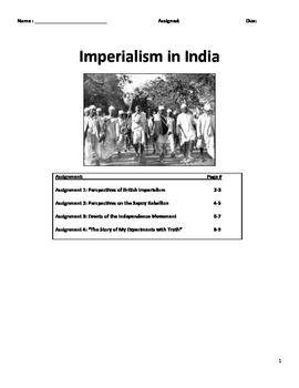 Imperialism - British Imperialism in India
