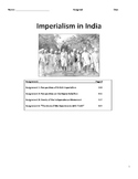 Imperialism - British Imperialism in India