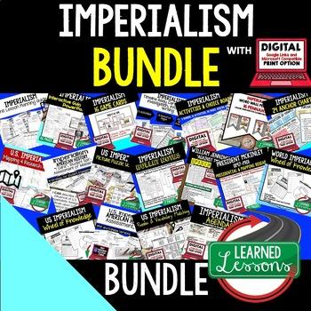 US History Imperialism BUNDLE (American History Bundle)