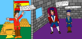 Canadian History Cartoon - Imperialism: Henry VII - Keeping up with the Jones'