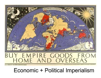 Imperialism: Economics + Politics