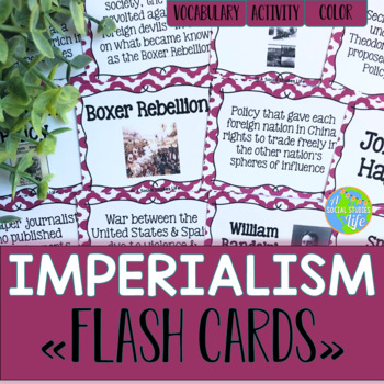 Imperialism Flash Cards