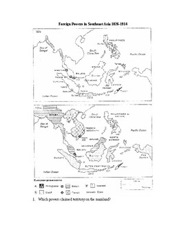 Imperialism: Foreign Powers in Southeast Asia 1826-1914