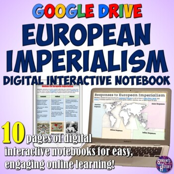 Imperialism Google Drive Interactive Notebook